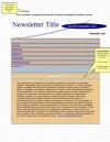 Free newsletter template, customized newsletter service