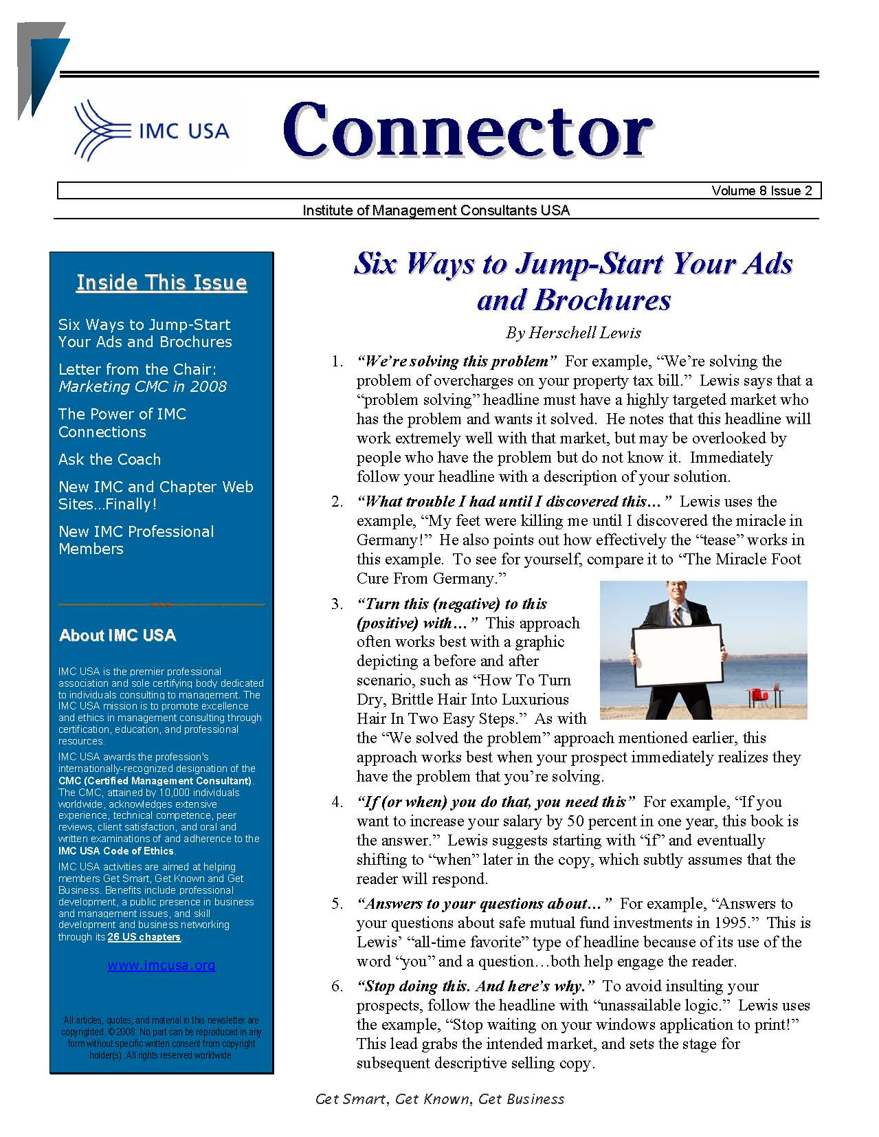 Email marketing boiler plate newsletters free newsletter for Free online newsletter templates pdf